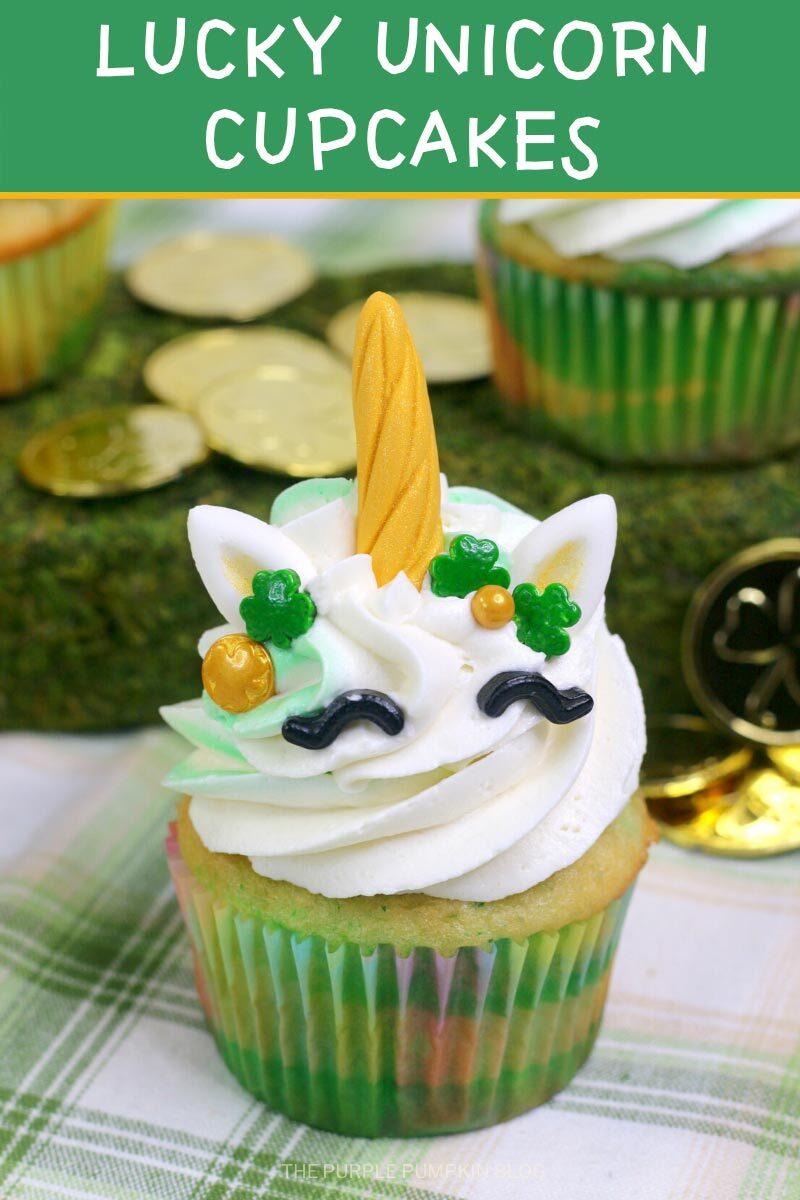 Unicorn Lucky Cupcakes