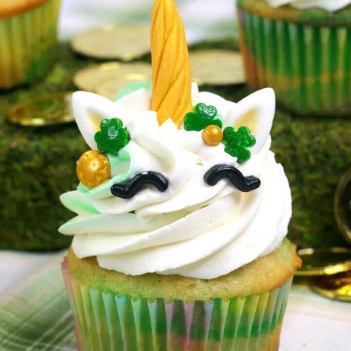 Lucky Unicorn Cupcakes