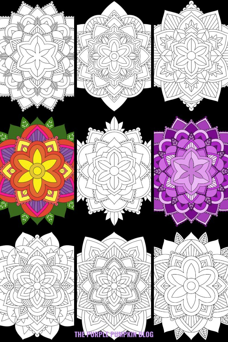Free Mandalas To Print and Color