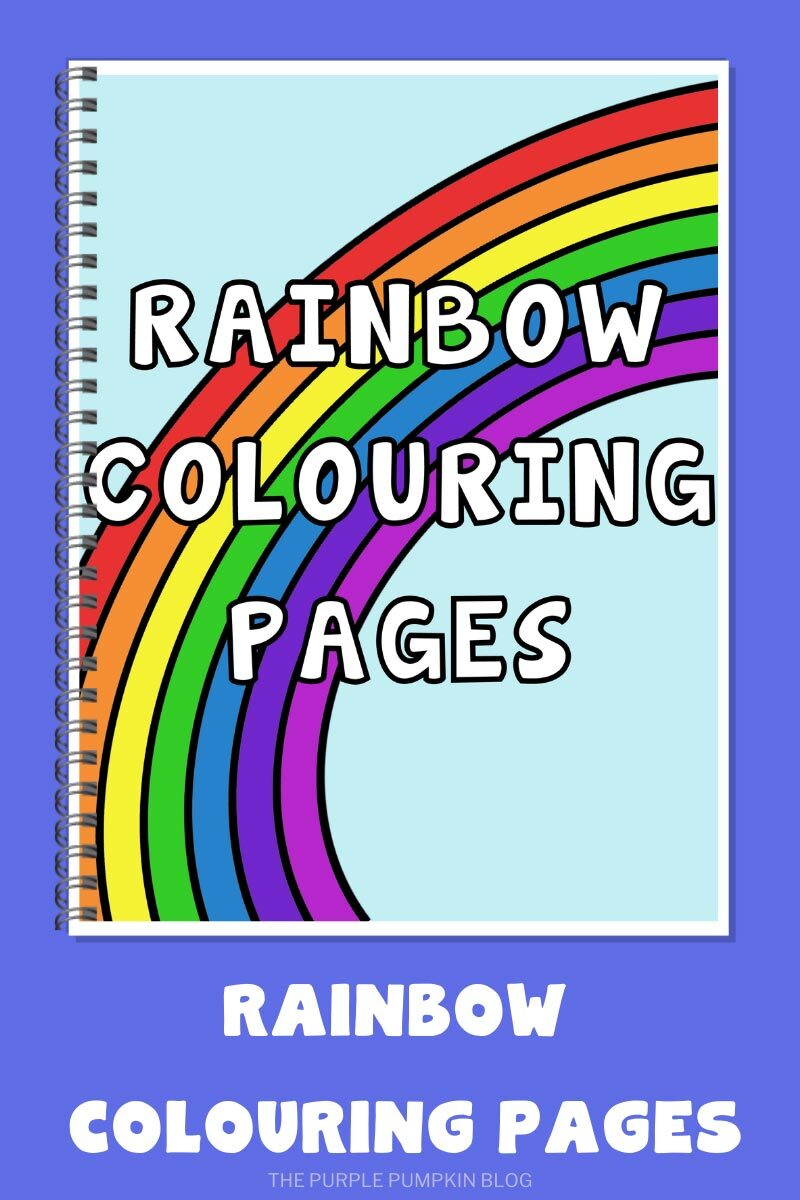 Free Printable Rainbow Coloring Pages