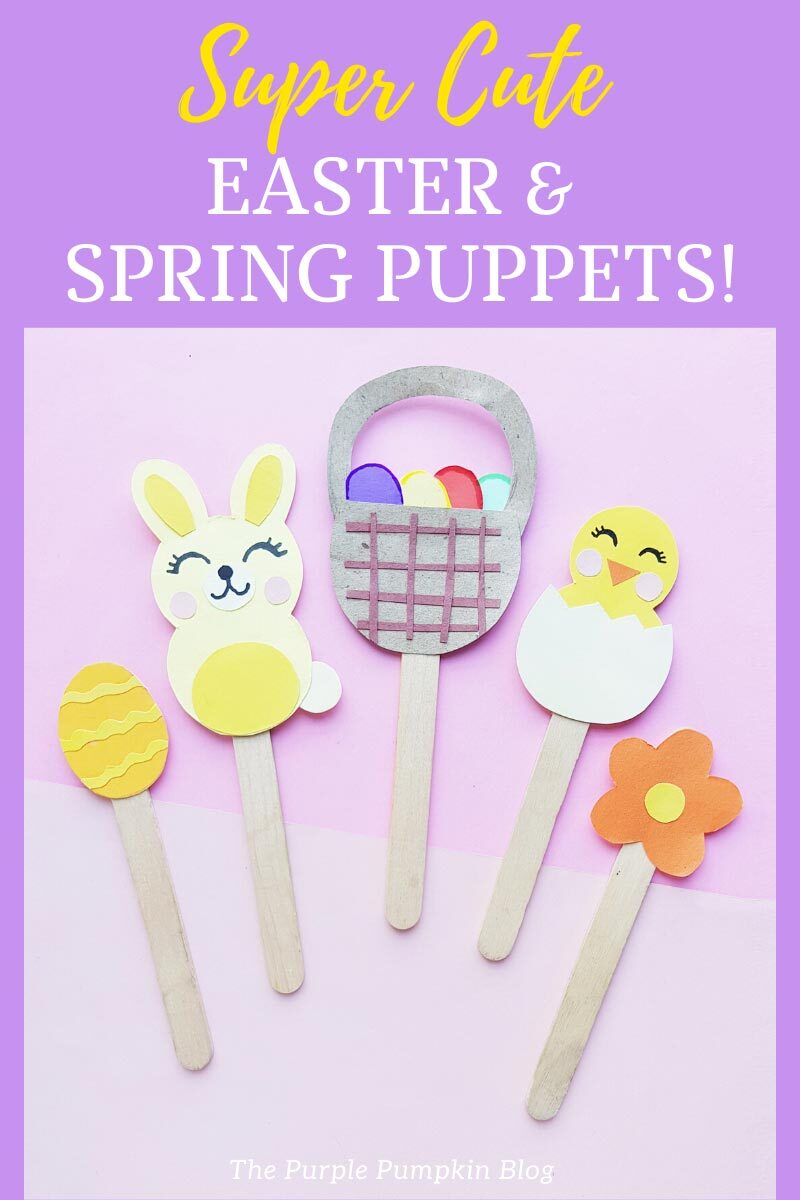 Super Cute Easter Spring Puppets