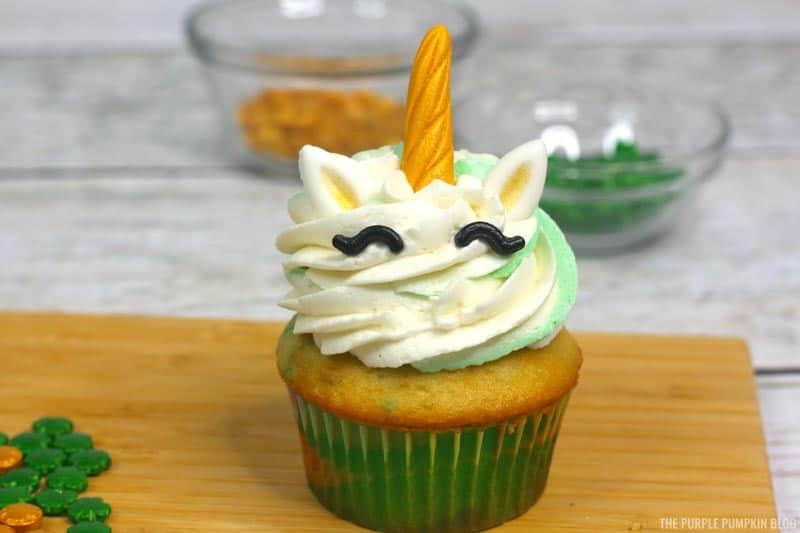 Unicorn Cupcake Kit Decorations