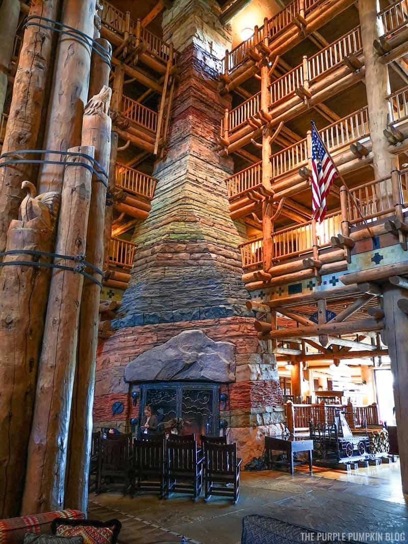 Wilderness Lodge Fireplace