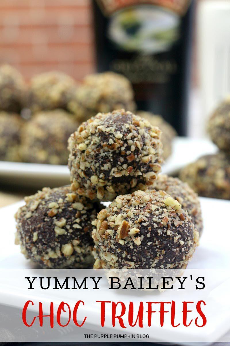 Yummy Bailey's Choc Truffles