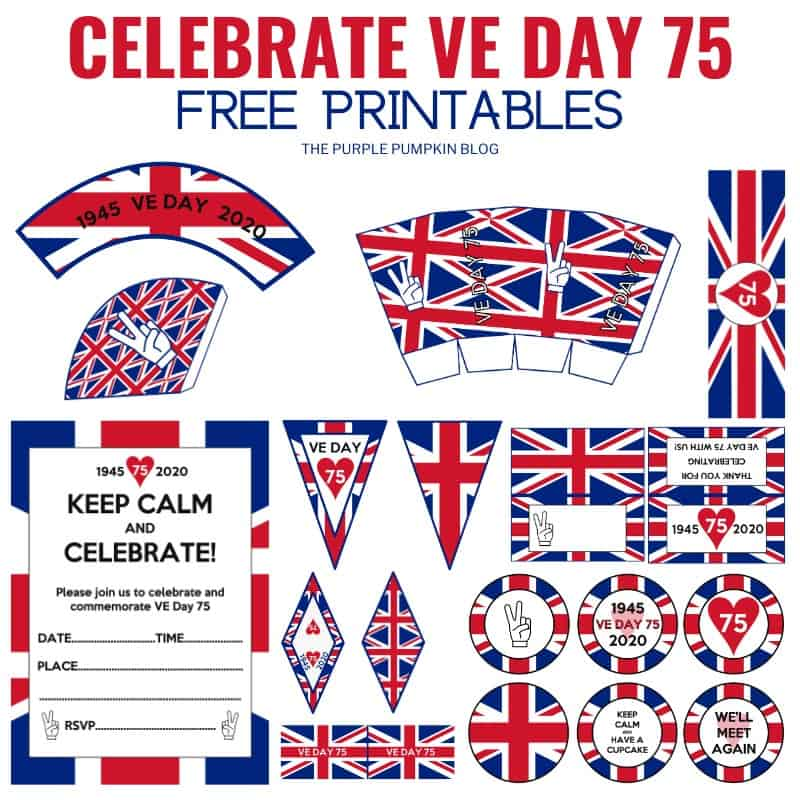 Commemorate VE Day 75 - Free Printables