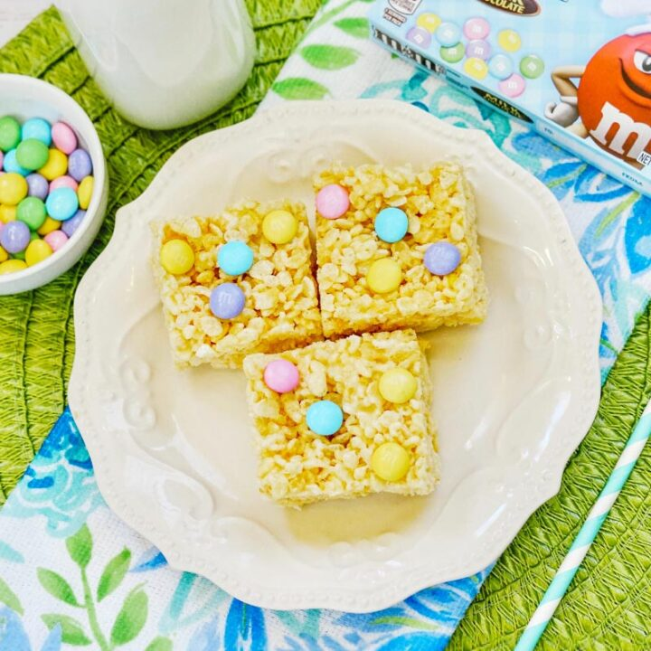 Easter Rice Krispies Squares