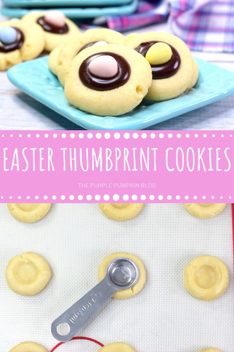 Easter Thumbprint Cookies