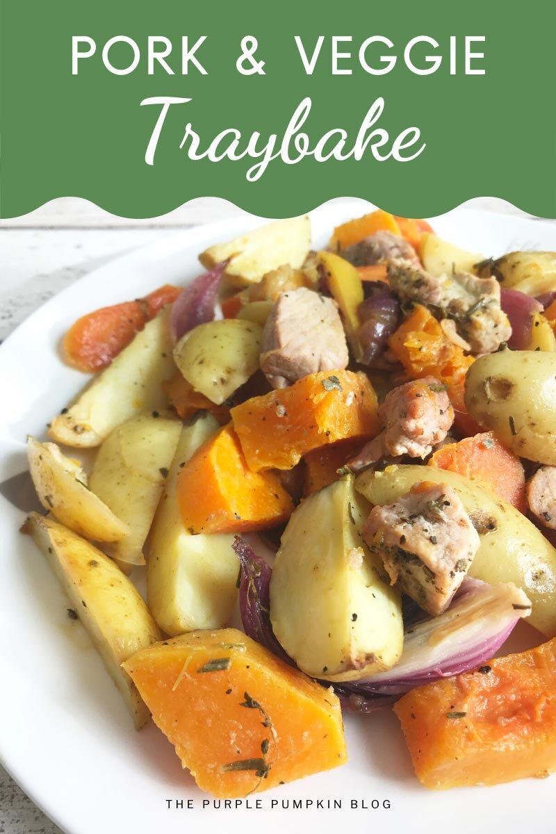 Pork & Veggie Traybake