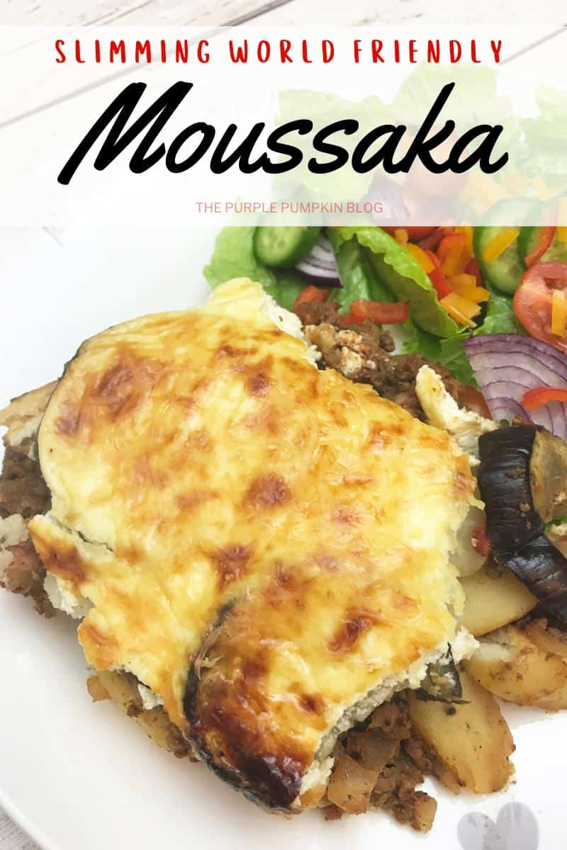 Slimming World Friendly Moussaka