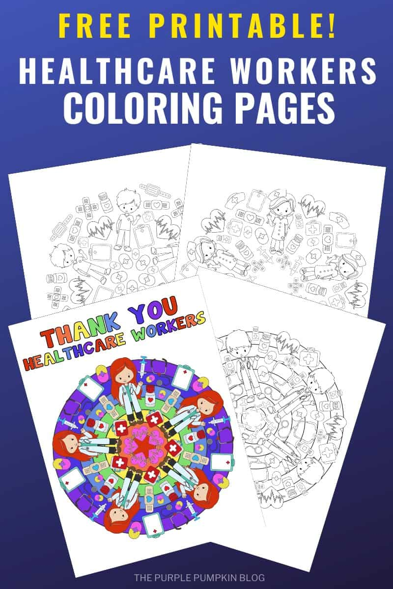 Free Printable Healtcare Workers Coloring Sheets