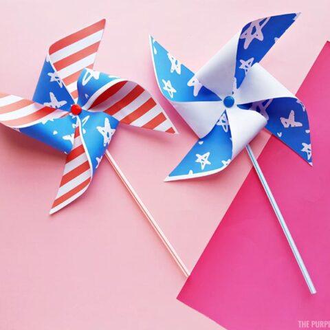Patriotic Pinwheels - Finished