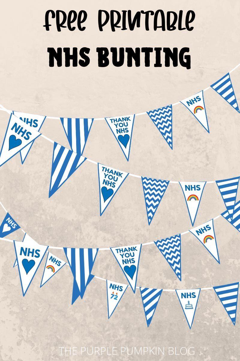 Free Printable NHS Bunting