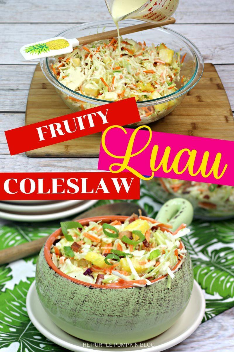 Fruity Luau Coleslaw
