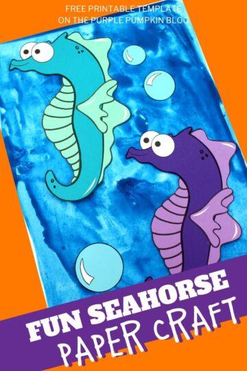 Fun-Seahorse-Paper-Craft