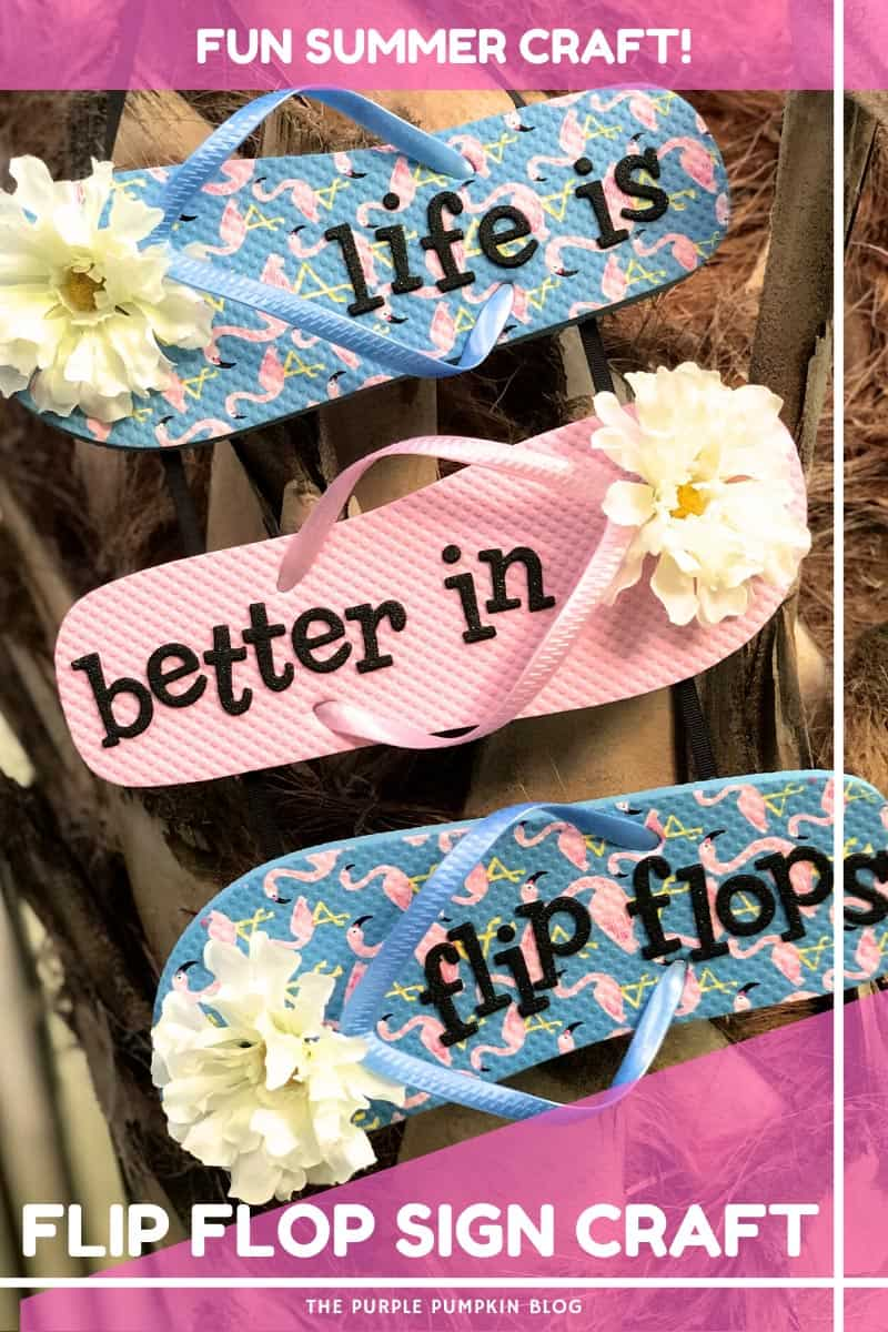 Fun-Summer-Craft-Flip-Flop-Sign-Craft