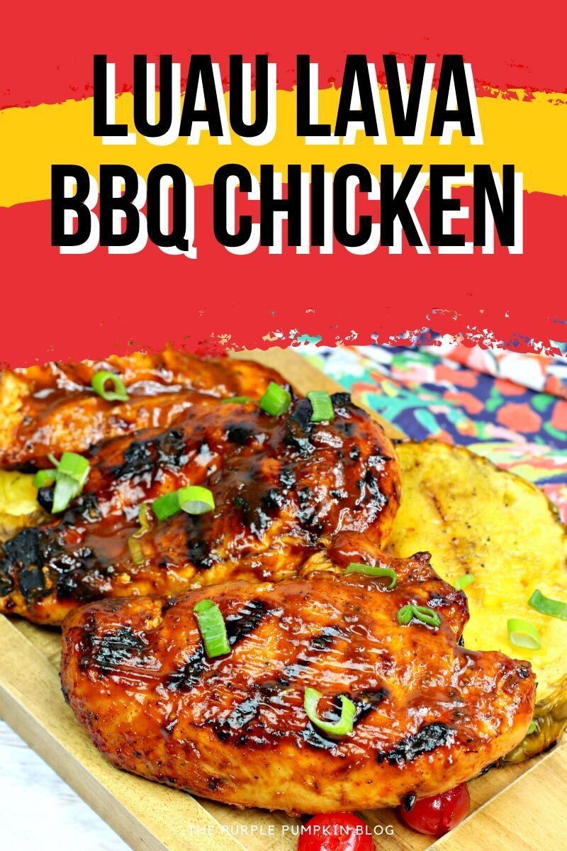 Luau Lava BBQ Chicken