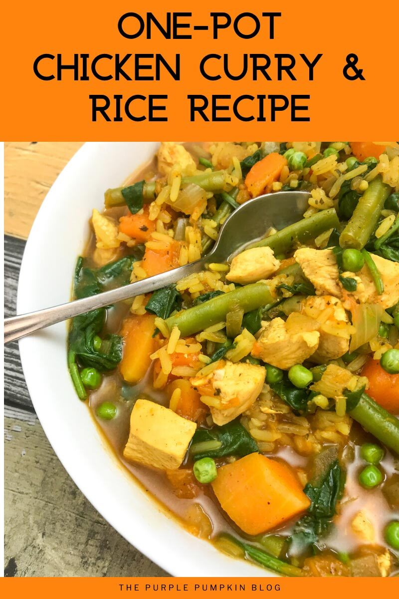 One-Pot Chicken Curry & Rice Recipe