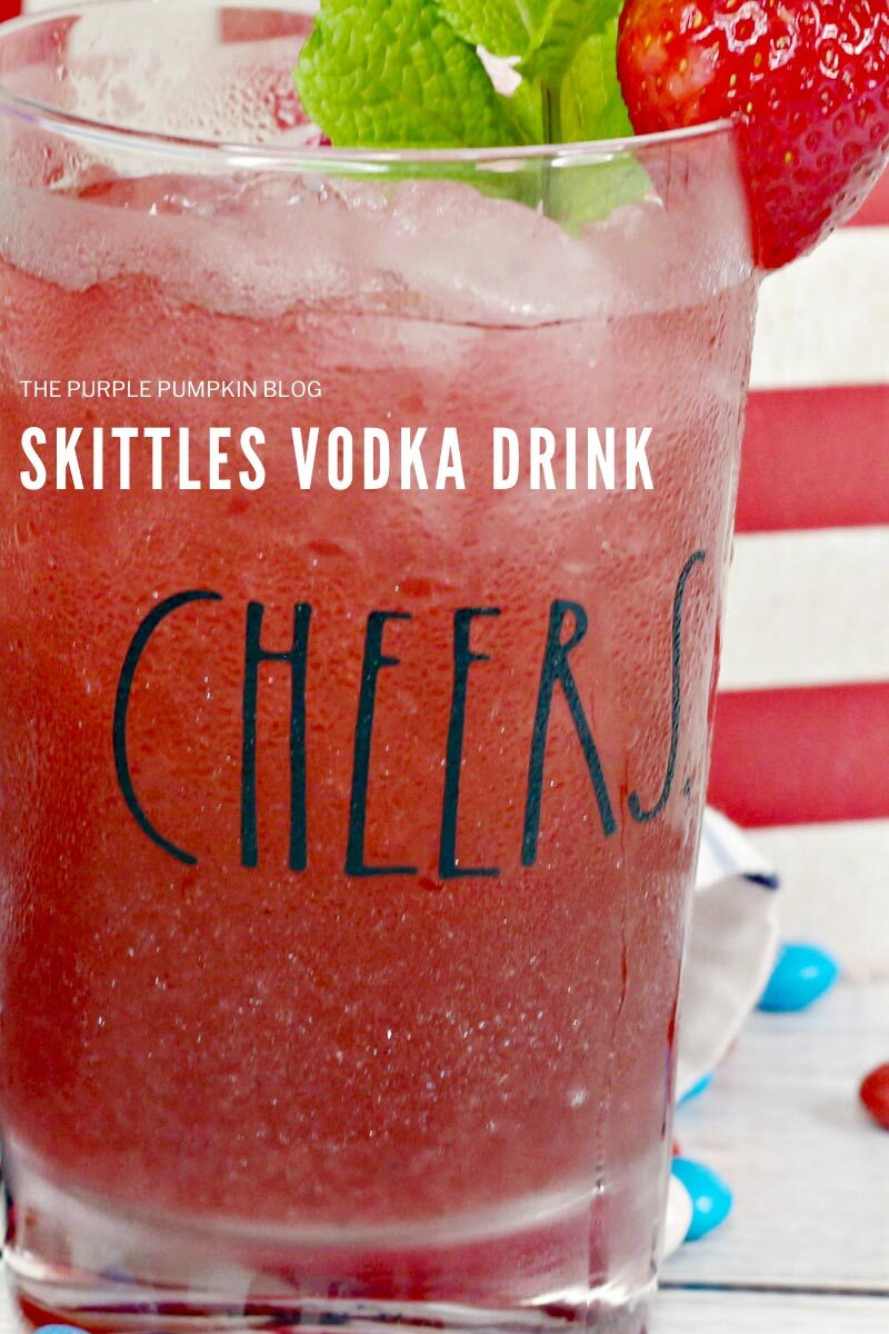 Skittles Vodka Drink