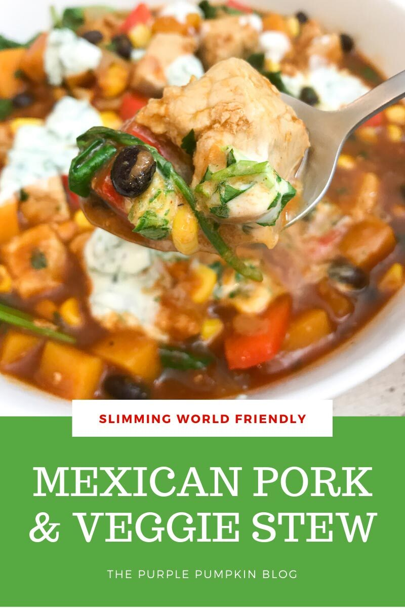 Slimming World Friendly Mexican Pork & Veggie Stew