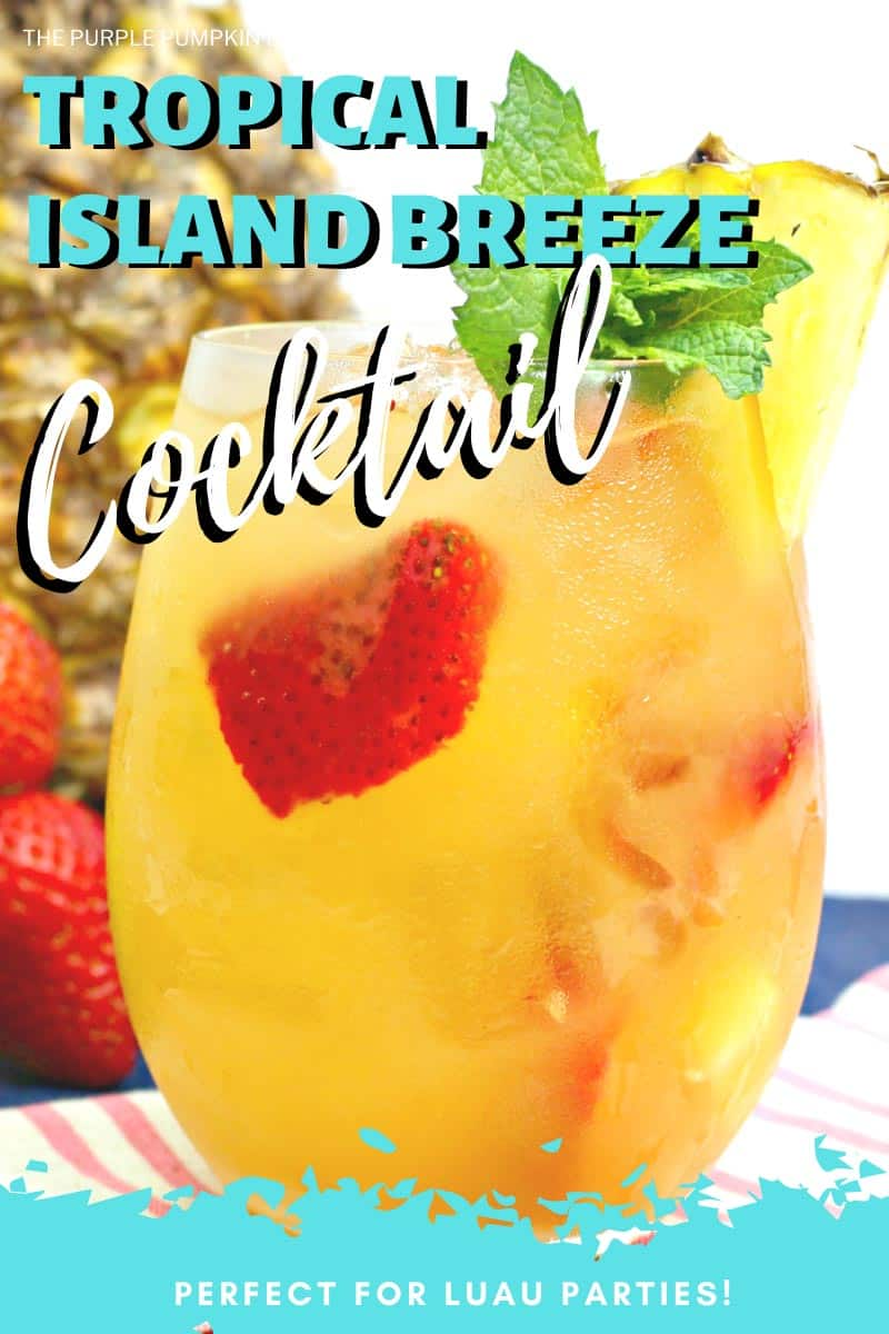 Tropical Island Breeze Cocktail