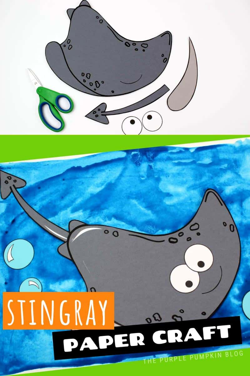A-Stingray-Paper-Craft