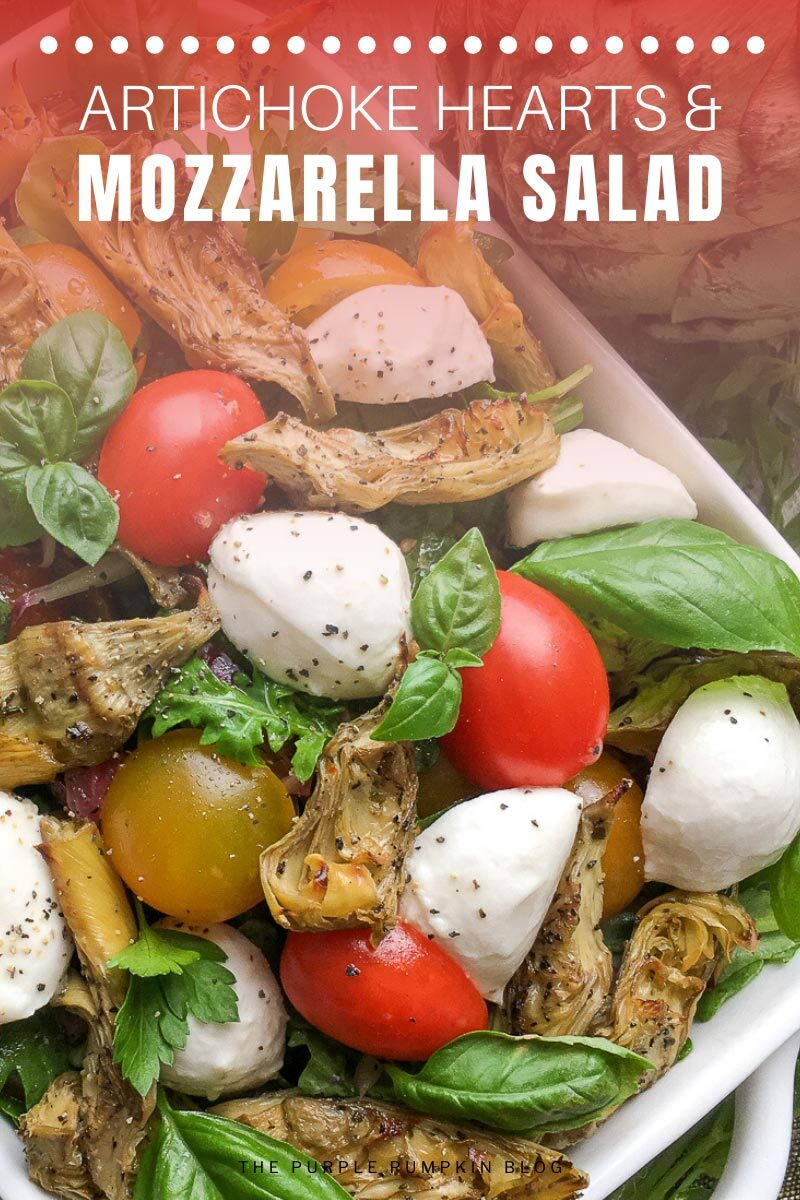 Artichoke Hearts & Mozzarella Salad