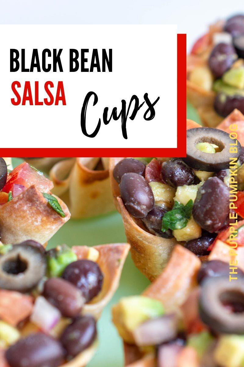 Black Bean Salsa Cups