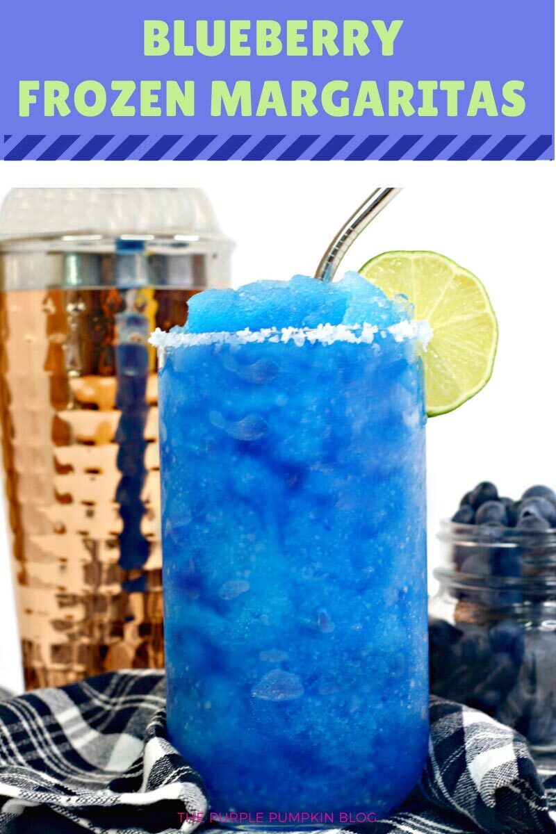 Blueberry Frozen Margaritas