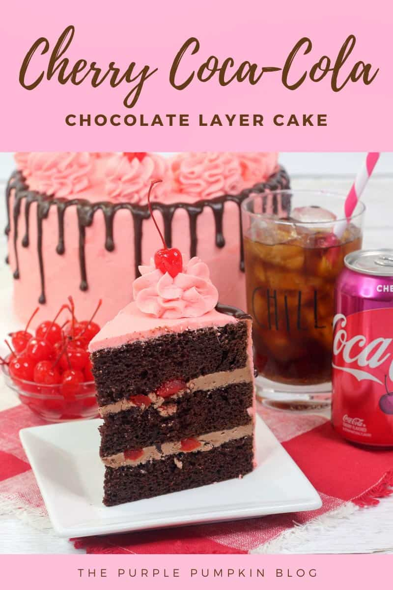Cherry Coca-Cola Chocolate Layer Cake