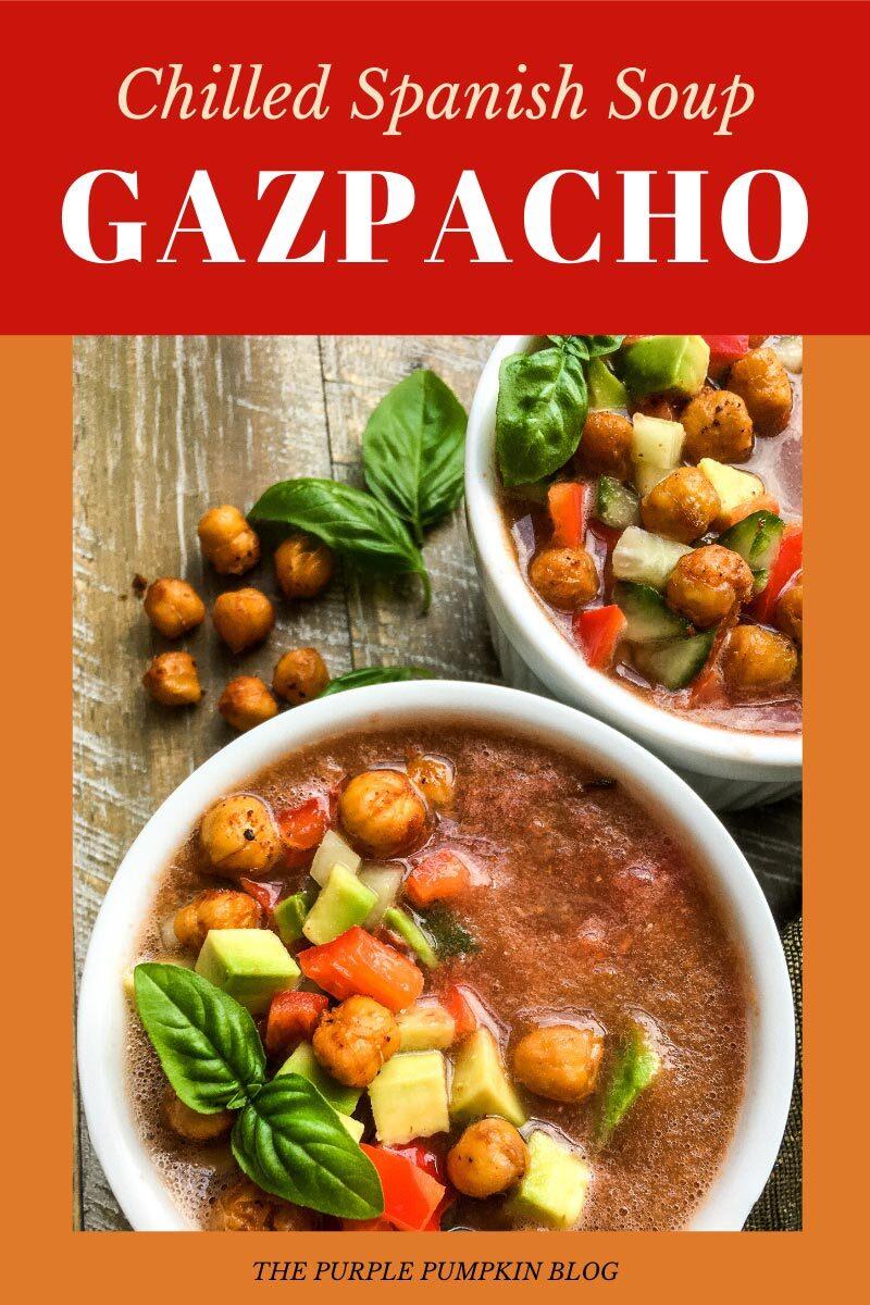 Chilled Spanish Soup Gazpacho
