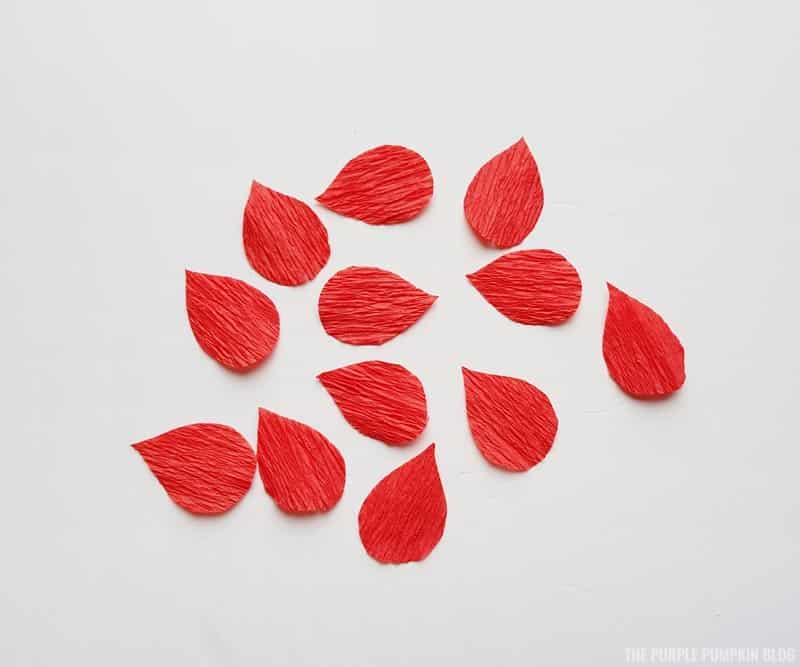 Ginger flower petals
