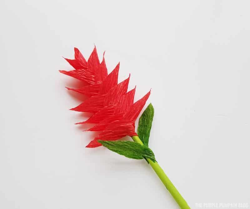 Finished ginger flower