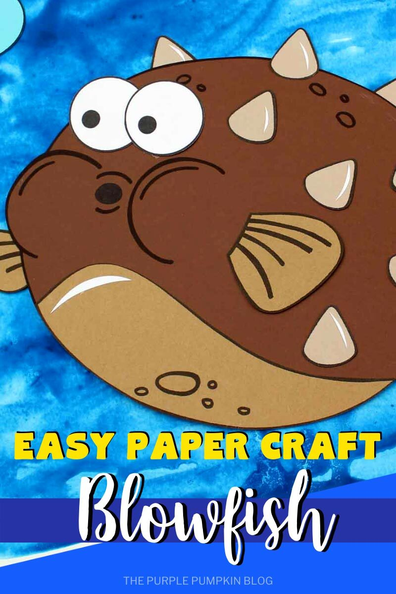 Easy Paper Craft Blowfish