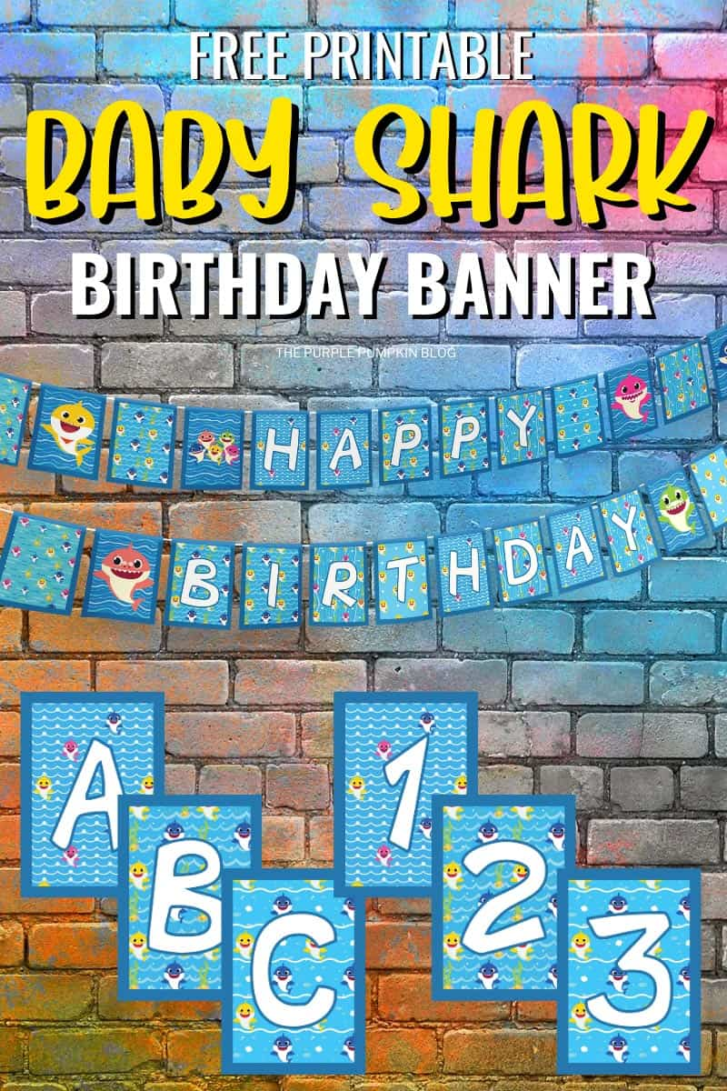 Free-Printable-Baby-Shark-Birthday-Banner-Letters