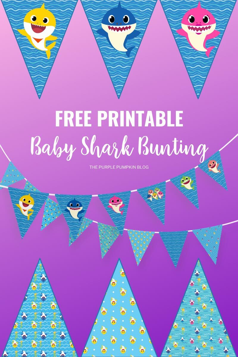 Free Printable Baby Shark Bunting