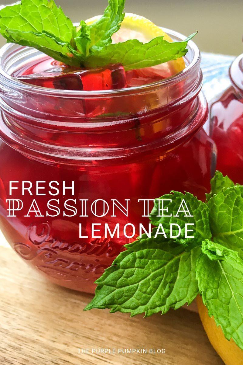 Fresh Passion Tea Lemonade