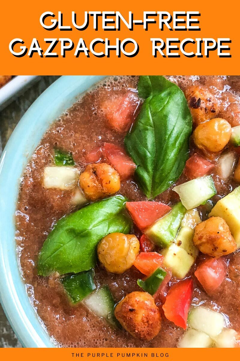 Gluten Free Gazpacho Recipe