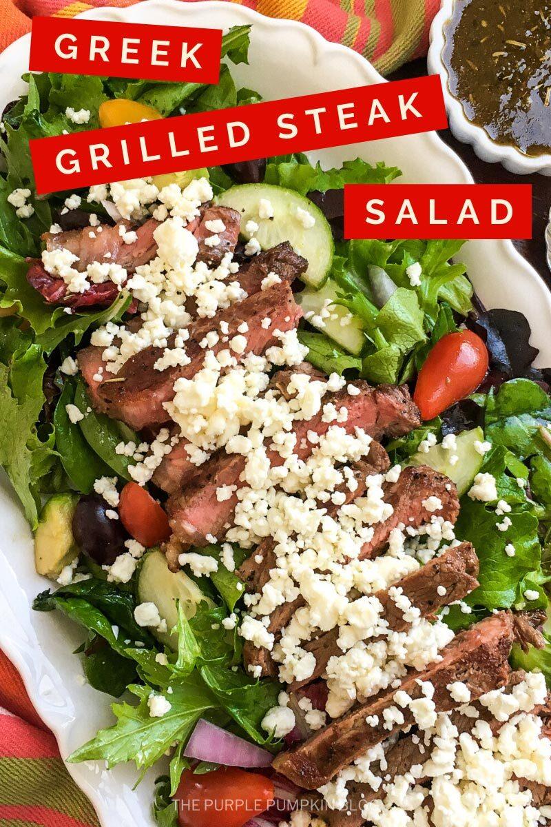 Greek Grilled Steak Salad