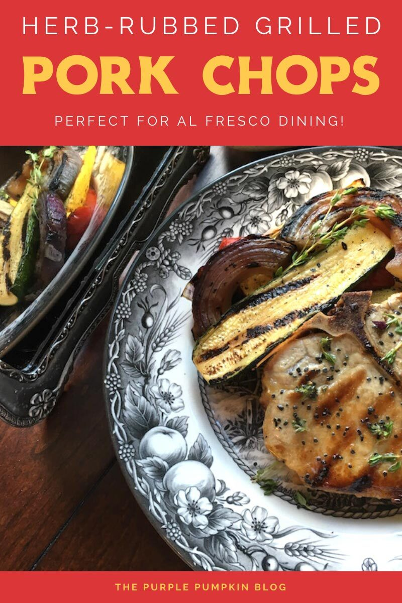 Herb-Rubbed Grilled Pork Chops