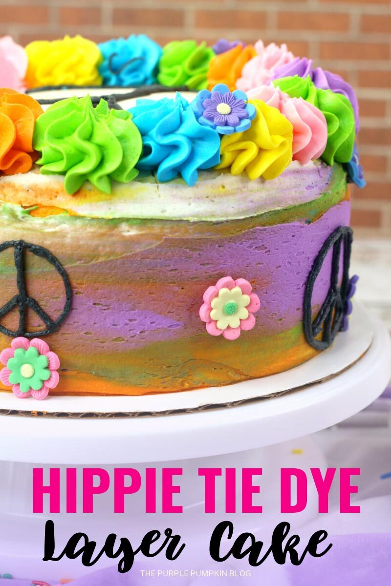 Hippie Tie Dye Layer Cake