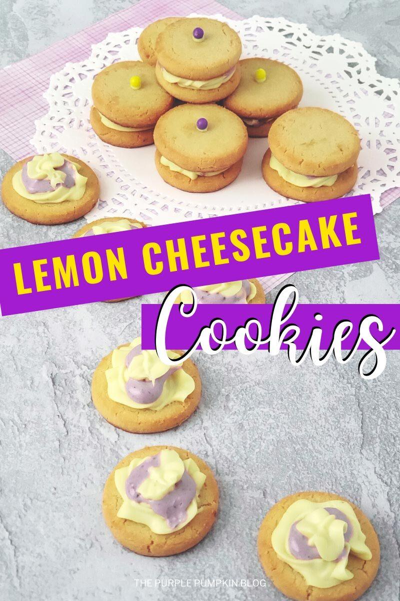 Lemon Cheesecake Cookies