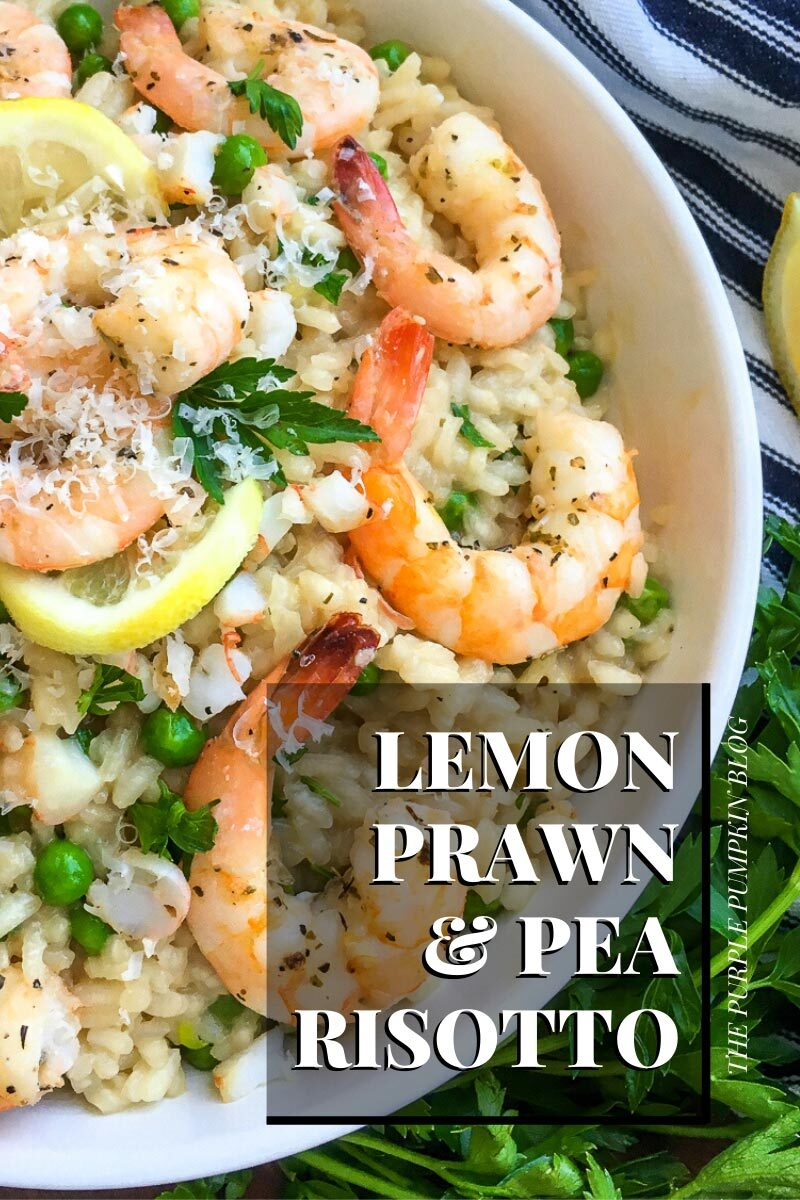 Lemon Prawn & Pea Risotto
