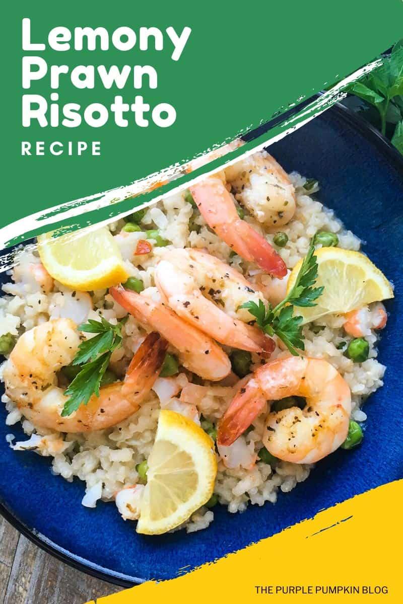 Lemony Prawn Risotto Recipe