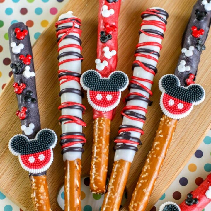 Mickey Mouse Pretzel Rods