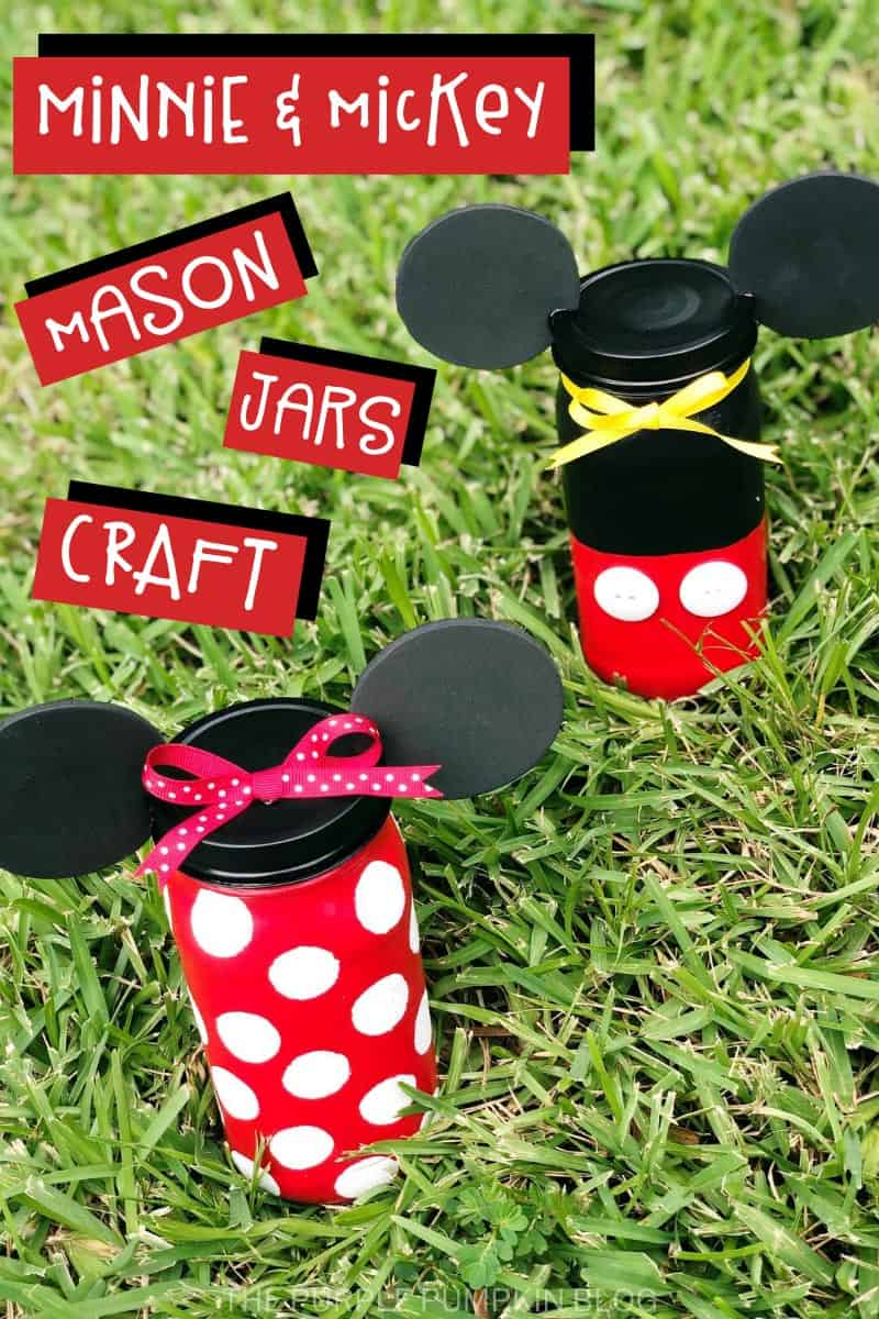 Minnie-Mickey-Mason-Jars-Craft