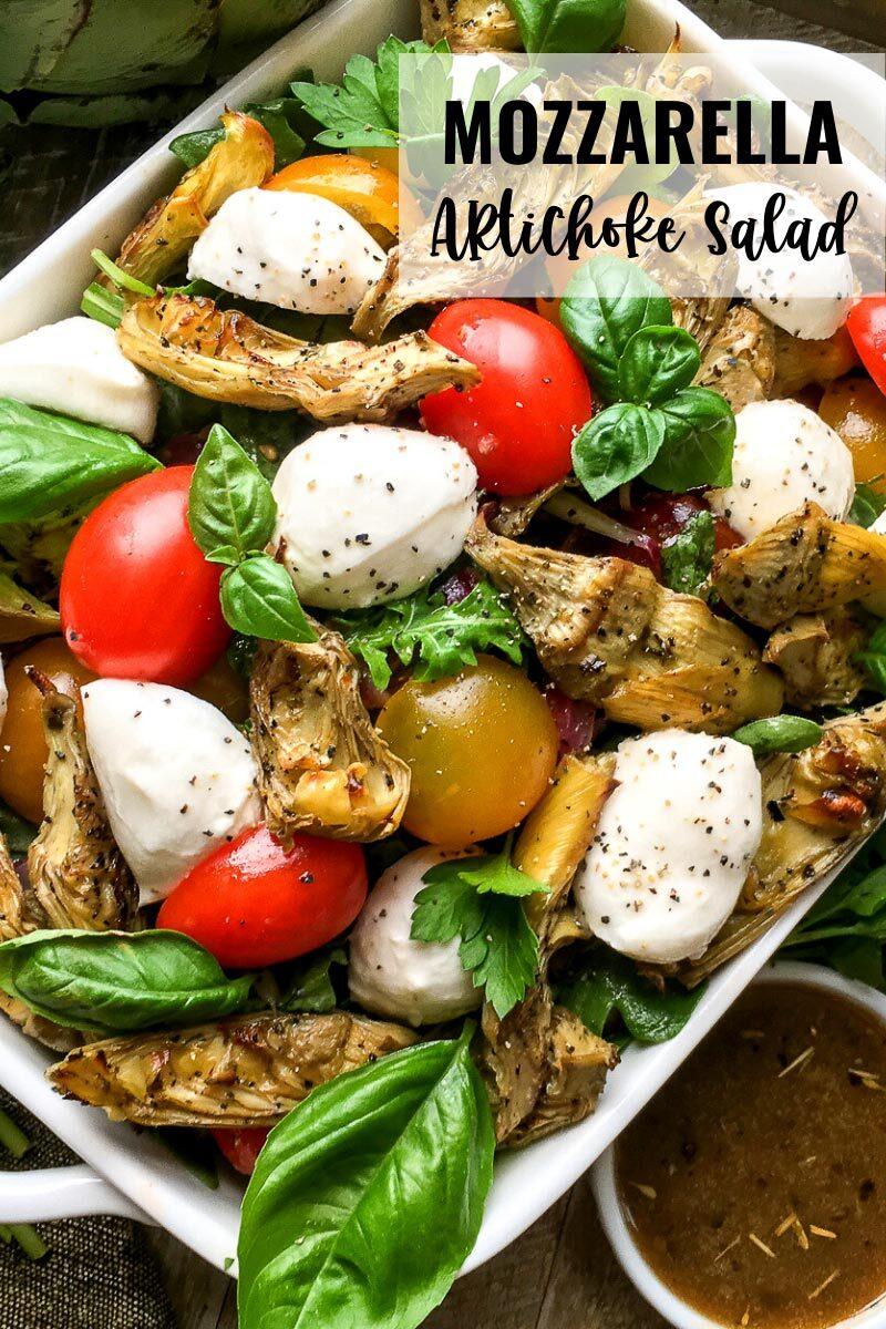 Mozzarella Artichoke Salad