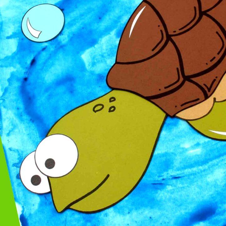 Paper Sea Turtle Craft