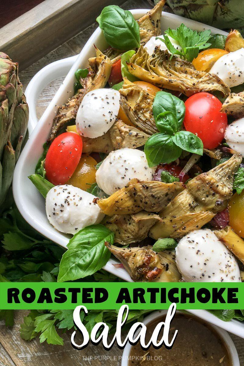 Roasted Artichoke Salad