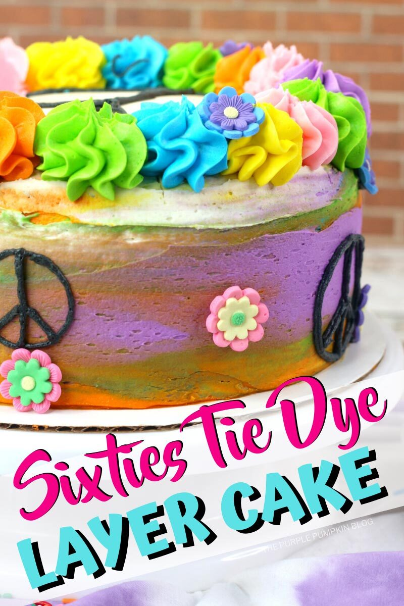 Sixties Tie Dye Layer Cake