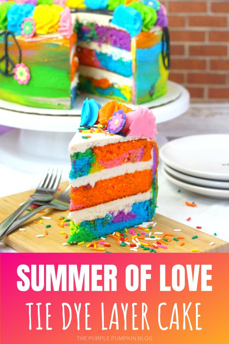 Summer of Love Tie Dye Layer Cake